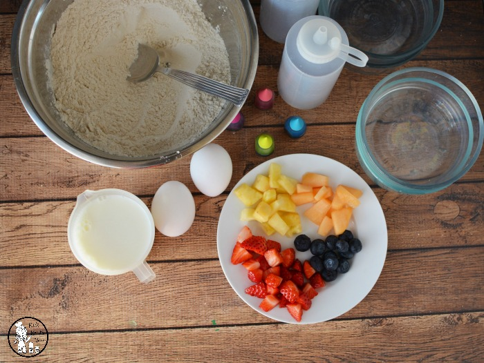 Pastel Pancake Recipe Ingredients