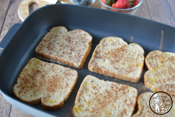 Fun 4th of July French Toast