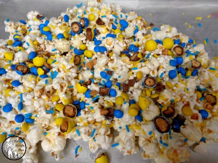 Fun Minion Popcorn for Kids