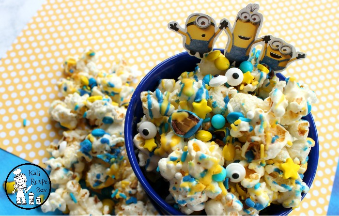 Fun Minions Popcorn Recipe for Kids