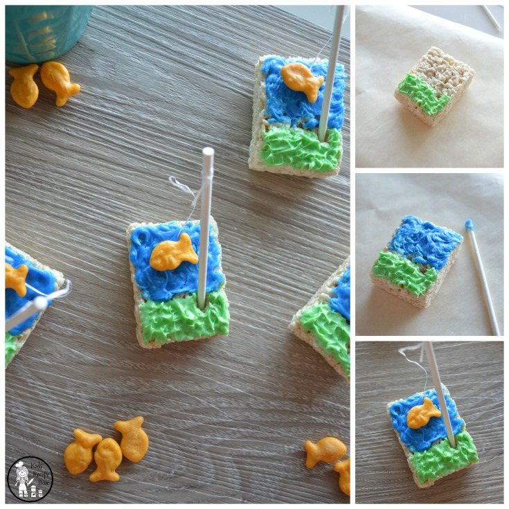 Going Fishing Party Treats for kids.