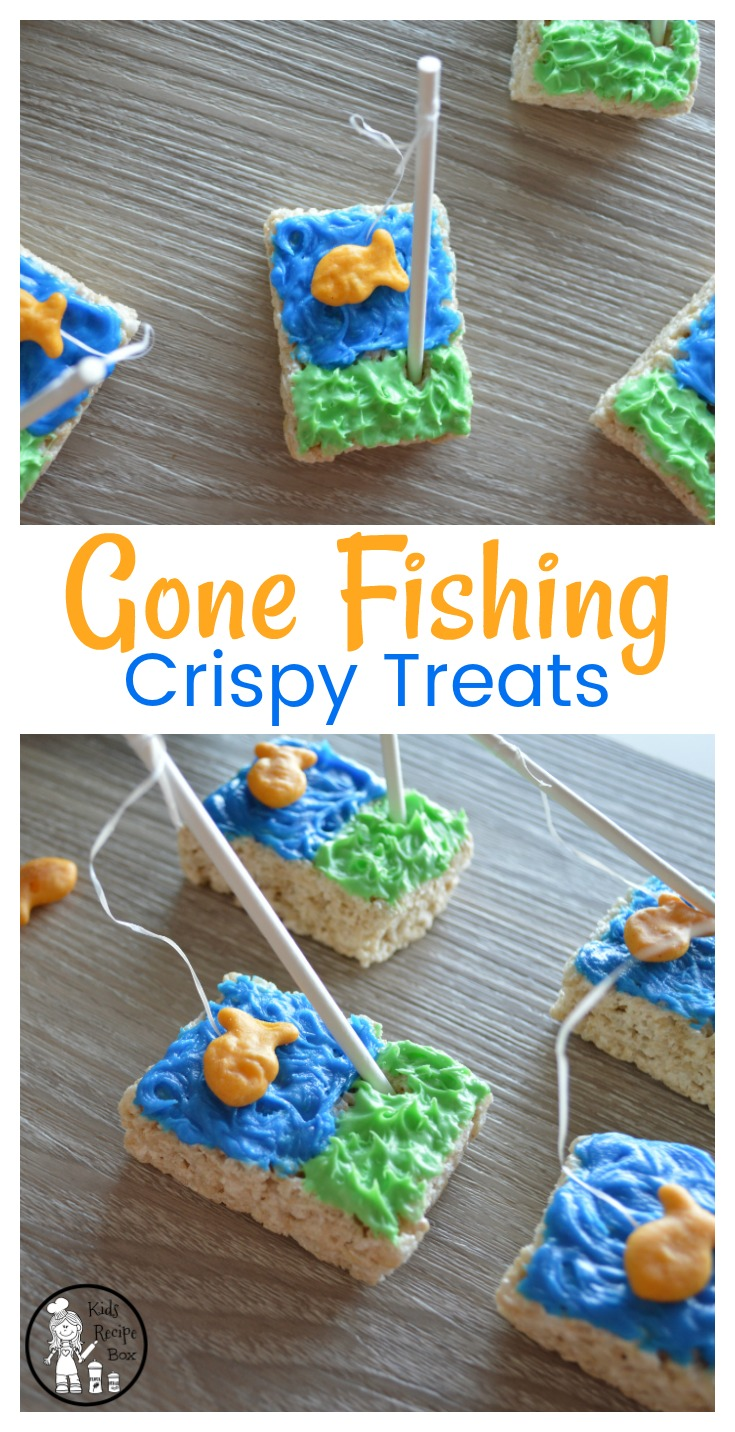 Gone Fishing Party Treats for Kids.