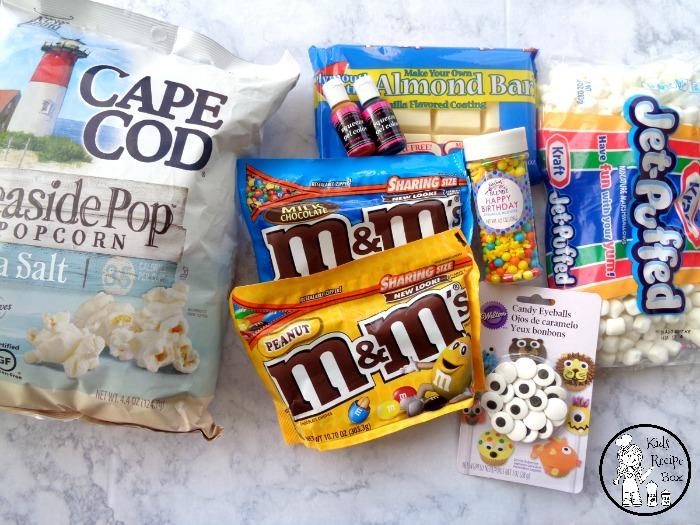 Minions Popcorn Ingredients