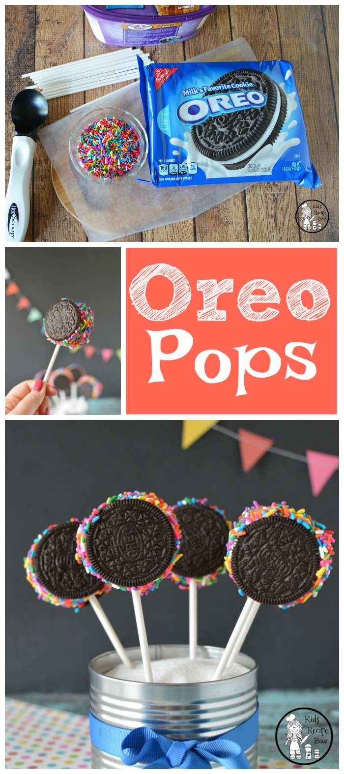 Oreo Pops Recipe for Kids