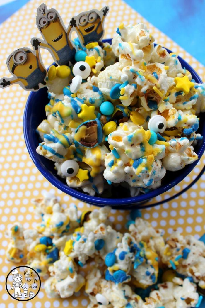 Yummy Minions Popcorn