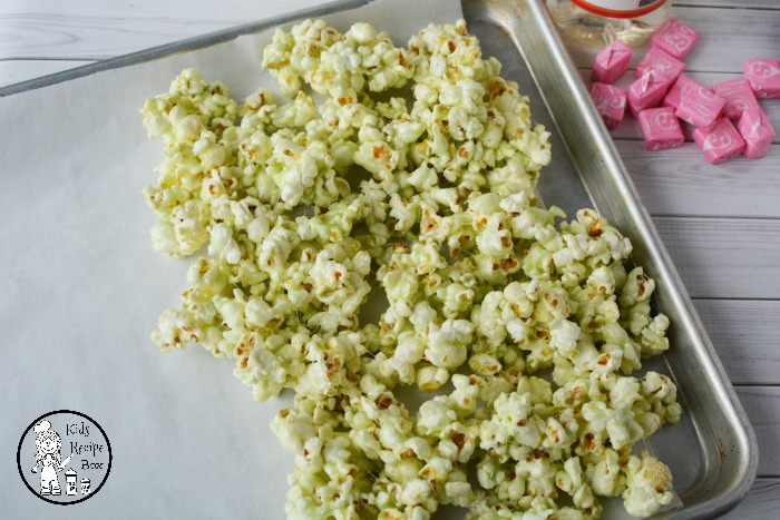 Colored Starburst Popcorn