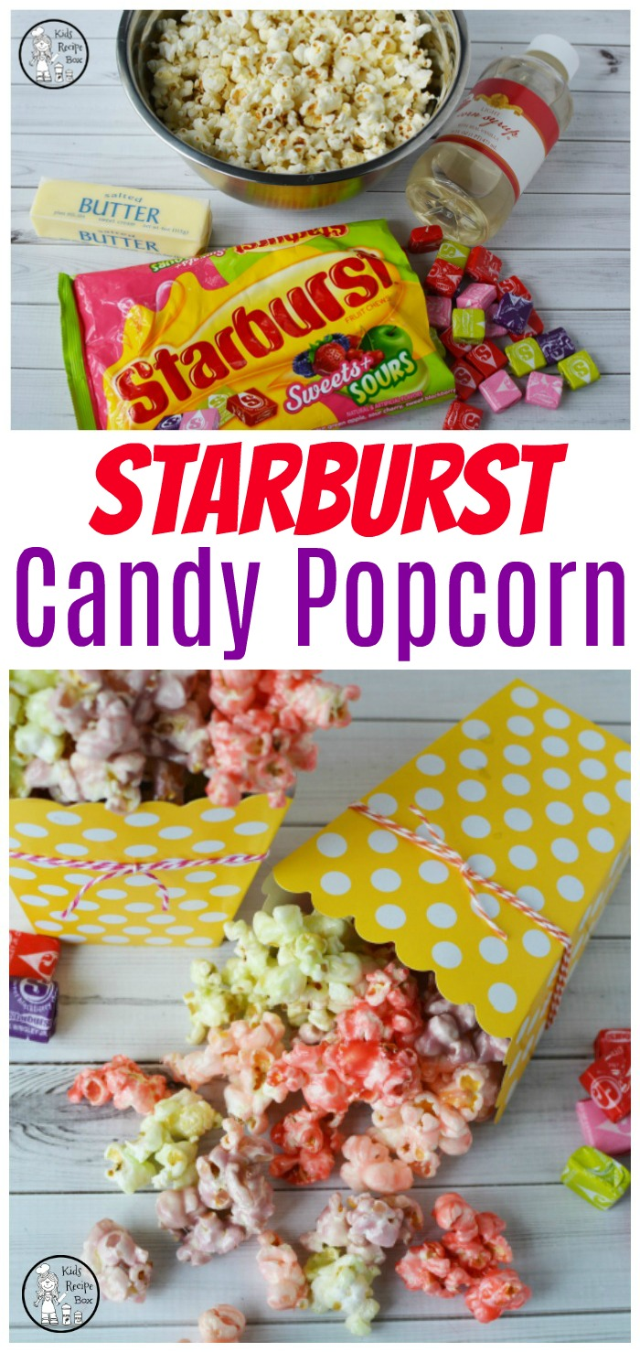 Starburst Candy Popcorn Recipe