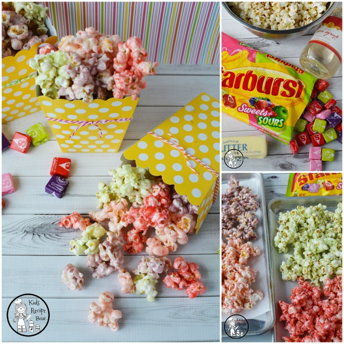 Starburst Candy Popcorn