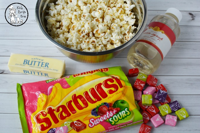 Starburst Popcorn Ingredients