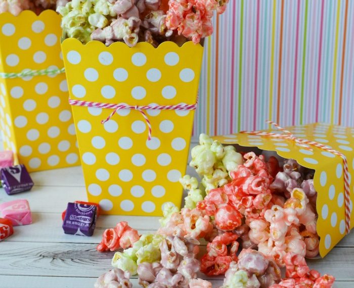 Starburst Popcorn Party Recipe